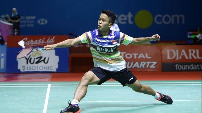 Hasil Drawing Thailand Open 2021: Jonatan Christie Vs Loh Kean Yew, Marcus/Kevin Jumpa Wakil Prancis