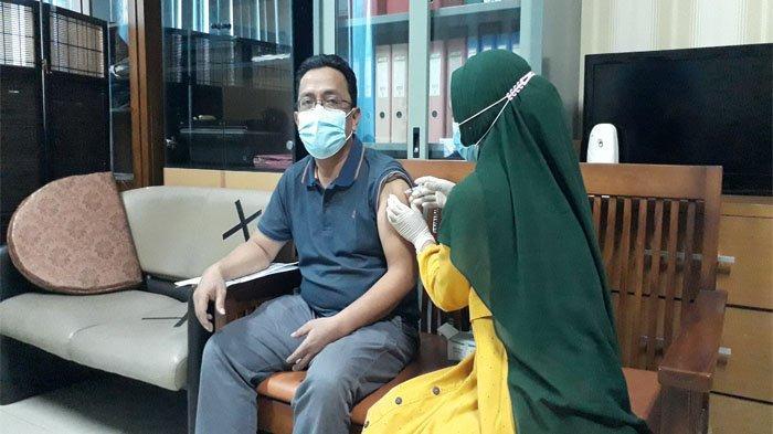 Vaksinasi Covid -19 Tahap 2 Pegawai dan Tenaga Alih Daya PLN UIP3BS Tuntas Dilaksanakan