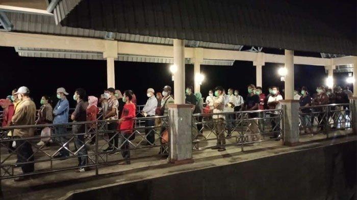 55 Orang PMI Bengkalis dari Malaysia yang Sempat 'Terlantar' Akhirnya Tiba di Kota Bengkalis
