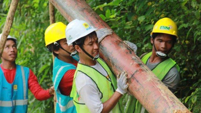 Jelang Pergantian Tahun, PLN Hadirkan Terang bagi 17 Desa di Riau dan Kepulauan Riau