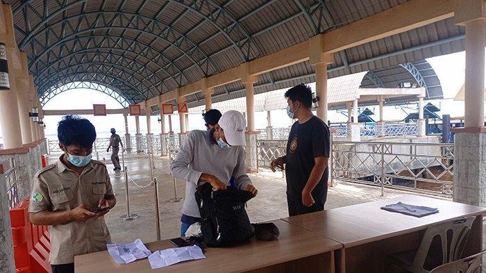 Jelang Larangan Mudik, Pelabuhan BSL Bengkalis Sepi, Pelayaran Kapal Berhenti 6-17 Mei 2021