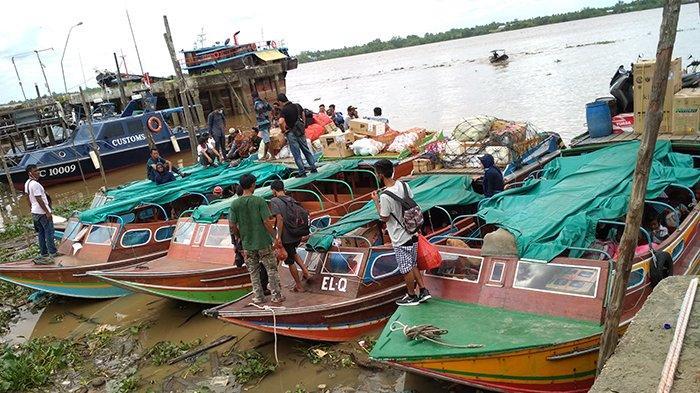 Biasa Bawa 80 Penumpang,Kini Cuma 30 Orang,Speedboat di Inhil Riau Kesulitan Tutup Biaya Operasional