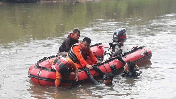 Pelajar SMA Tenggelam di Sungai Rokan Rohul, Basarnas Pekanbaru Terjunkan Tim Penyelam
