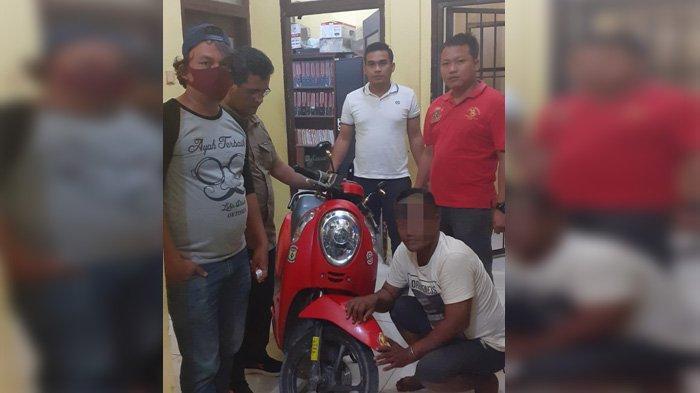 Honda Scoopy Milik Marleni Hilang Di Kota Pekanbaru, Pelaku Berhasil Diamankan di Kabupaten Kampar