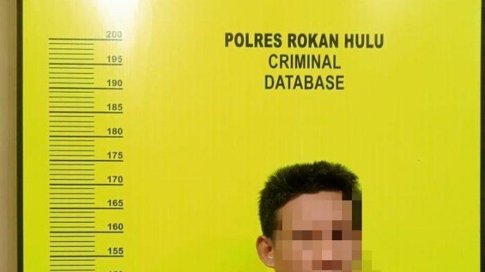 Kemas Sabu Dalam Plastik Bening,Jadi Barang Bukti Polisi Saat Bekuk 2 Pengedar Narkoba di Rohul Riau