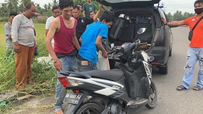 Bawa Kambing Curian Lewat di Area Razia, Dua Pria Padang Pariaman Langsung Dibekuk di Tempat