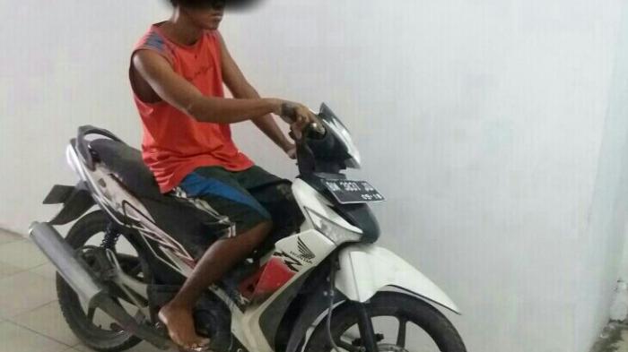 Dalihnya Beli Pulsa, Pelaku Pinjam Sepeda Motor Warga Kampar, Dilarikan dan Dijual ke Kandis Siak