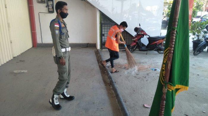 Pelalawan Zona Merah Covid-19, 56 Warga Pangkalan Kerinci Terjaring Razia Prokes