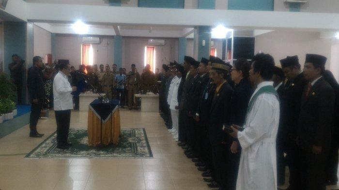 Irwan Nasir Lantik 7 Pejabat Eselon II Kepulauan Meranti