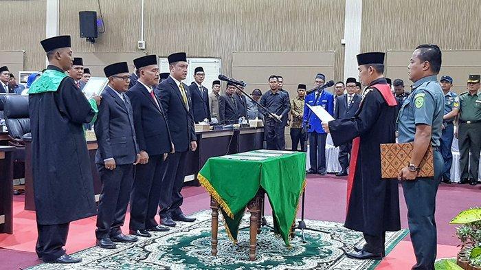 Kejar Target Bahas RAPBD 2020, Pimpinan DPRD Kepulauan Meranti 2019-2024 Resmi Dilantik