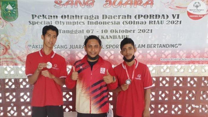 Atlet Tenis Meja SOIna Pekanbaru Raih 2 Medali di Porda VI SOIna Riau