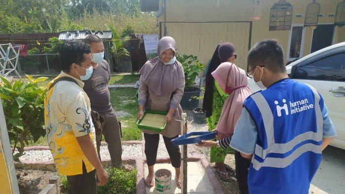 PLN UIP SUMBAGTENG dan HI Riau Gelar Pelatihan Program Hidroponik Tahap II