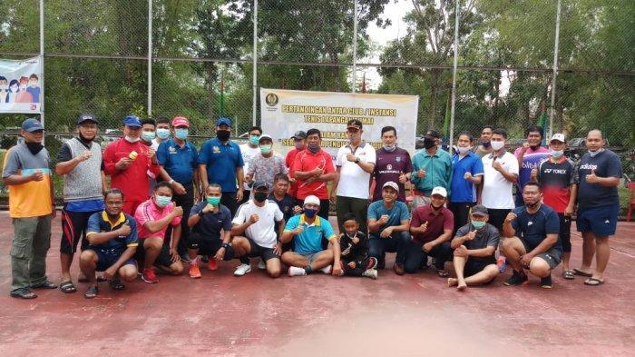 OLAHRAGA LOKAL- Asah Jam Terbang Atlet, PELTI Dumai Gelar Turnamen Tenis di Penghujung Tahun 2020