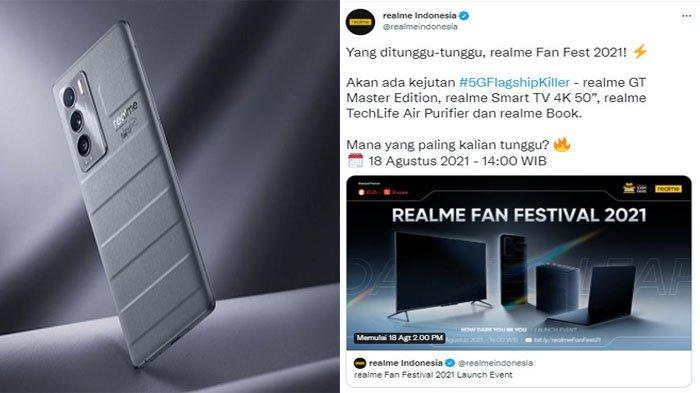 Siap-siap, Realme GT Master Edition Resmi Dirilis di Indonesia Pekan Depan