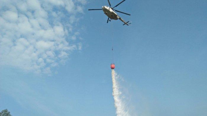 Tiga Helikopter Permintaan Riau Masih Proses di Pusat