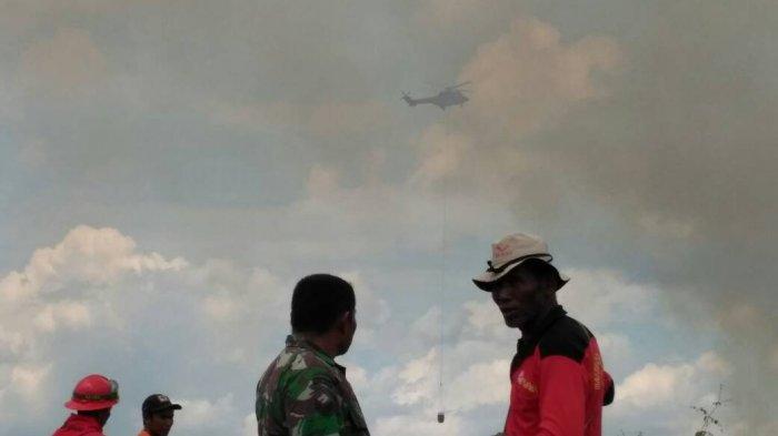 Seminggu Karhutla di Tanjung Leban, Sinar Mas Foresty Lakukan Pemadaman dengan Waterboming