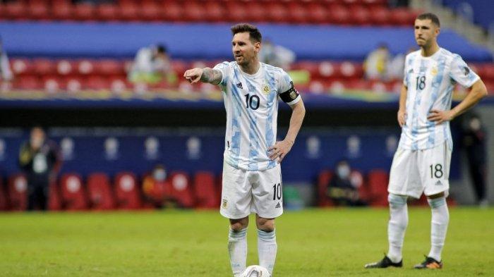 Saat Polisi Gerebek Hotel, Lionel Messi dan Kawan-kawan Sudah Berangkat ke Stadion Brazil
