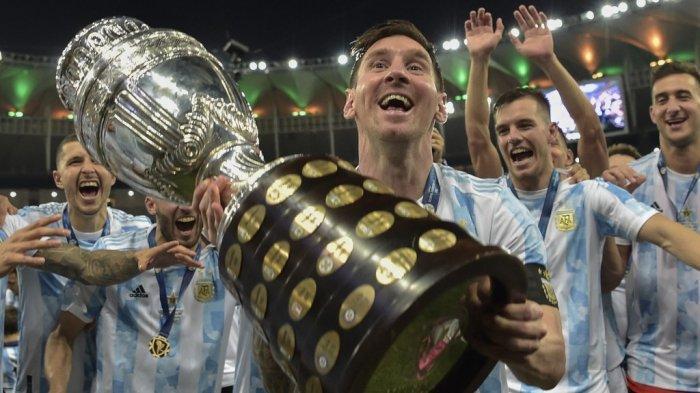Argentina Juara Copa Amerika 2021, Angel Di Maria Akhiri Kutukan Internasional Lionel Messi
