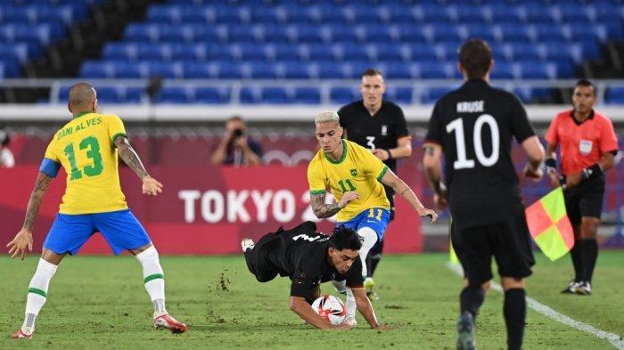Brasil Cukur Jerman 4-2 di Olimpiade Tokyo, Pemain Liga Inggris Ini Cetak Hattrick