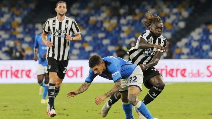 Juventus Sial Buang Cristiano Ronaldo, Dipermalukan Napoli di Laga Ketiga Liga Italia Musim Ini