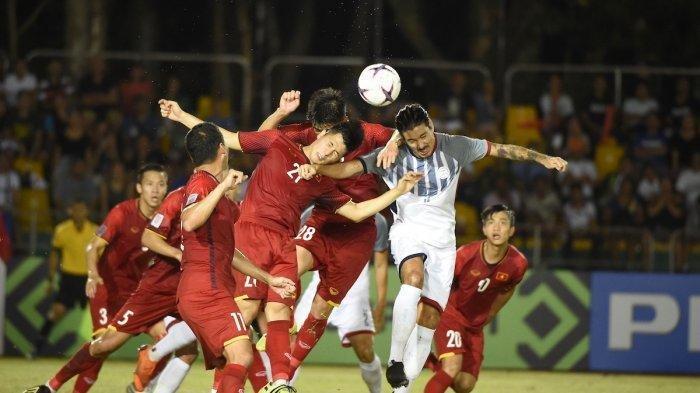 Hasil Vietnam Vs Filipina AFF Suzuki Cup 2018 Babak Pertama Imbang, Live Streaming Babak Kedua