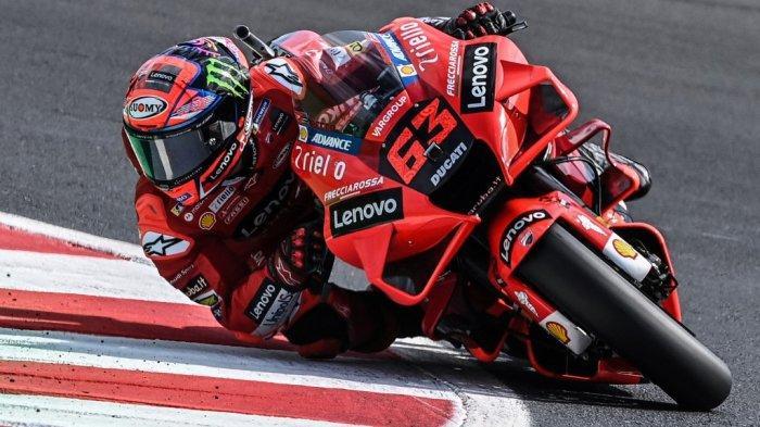 Siaran Langsung MotoGP Amerika 2021 di Trans7, Bagnaia 3 Kali Beruntun Posisi Pole