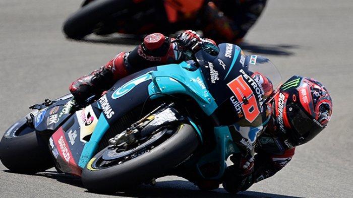 Daftar Starting Grid MotoGP Spanyol, Quartararo Start Terdepan, Ini Posisi Marquez dan Rossi