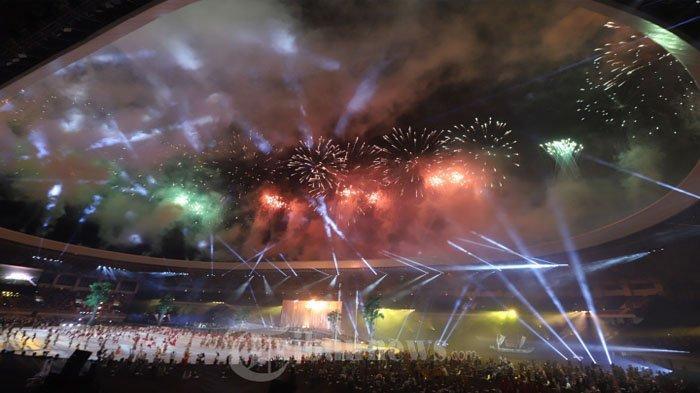 Pembukaan PON di Stadion Lukas Enembe