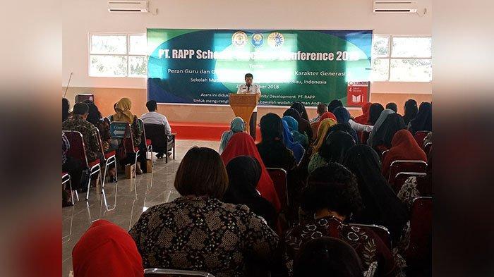 PT RAPP Schools Teachers Conference Perdana Digelar di Sekolah Mutiara Harapan