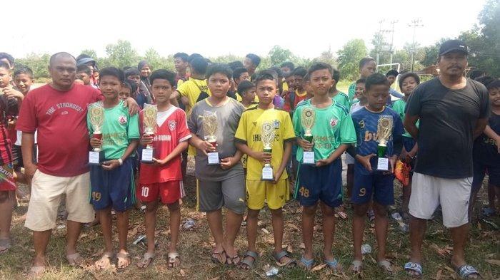 Jadi Ajang Hadapi Danone Cup, Turnamen Piala Perari di Dumai Selatan Tuntas