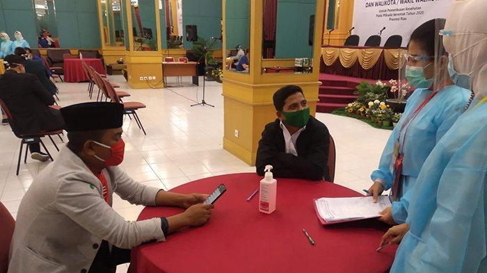 Ingin Tahu? Ini Hasil Tes Kesehatan dan Verifikasi Syarat Bapaslon Pelalawan yang Diterima KPU