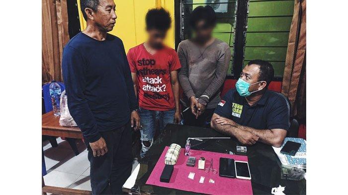 Tiga Pemuda di Inhil Ditangkap Karena Memiliki Paket 'Lengkap', yakni Ganja, Sabu Hingga Pil Ineks