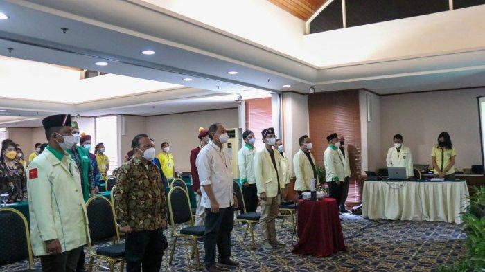 Bertepatan Hari Lahir Pancasila, Pemuda Katolik Riau Sukses Memilih Ketua Baru Periode 2021 - 2024