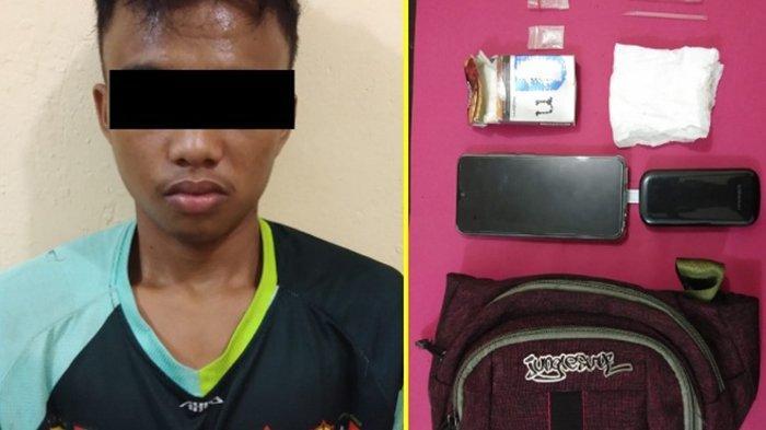 Simpan Sabu 03 Gram, Pemuda 18 Tahun Lari Saat Disergap Polisi