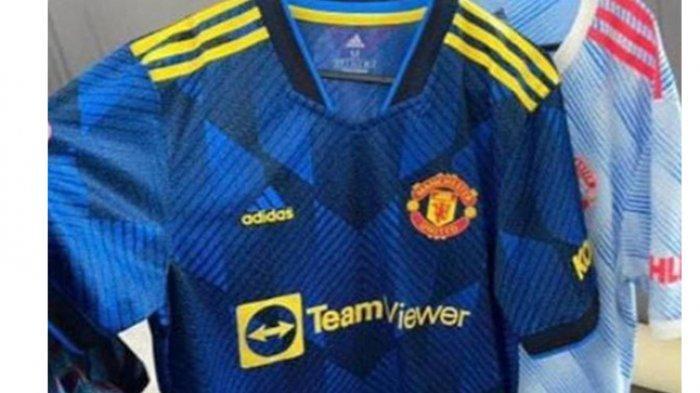 Beredar di Medsos Jersey Baru Manchester United, TeamViewer Jadi Sponsor Utama, Ini Penampakannya
