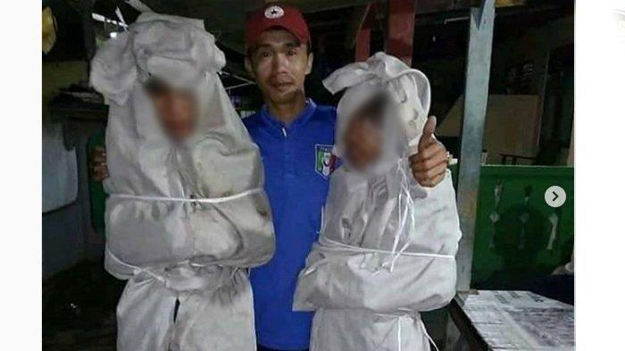 VIDEO: Kids Zaman Now Tertangkap Jadi Pocong Buat Usilin Warga, Kemudian Dihukum Tidur di Kuburan!