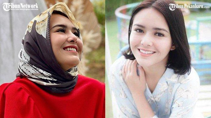 Penampilan Amanda Manopo kenakan Hijab