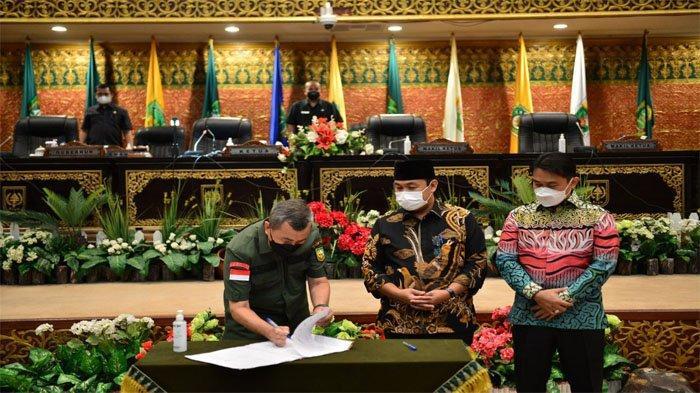 APBD Perubahan Riau 2021 Naik Jadi Rp 9,680 Triliun, Gubernur : Penanganan Covid-19 Masih Prioritas