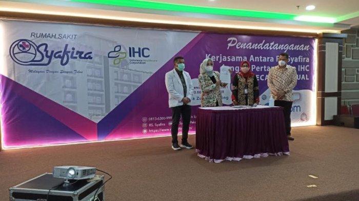 Jalin Kerjasama dengan Pertamedika IHC, RS Syafira Pekanbaru Siap Melangkah ke Tingkat Nasional