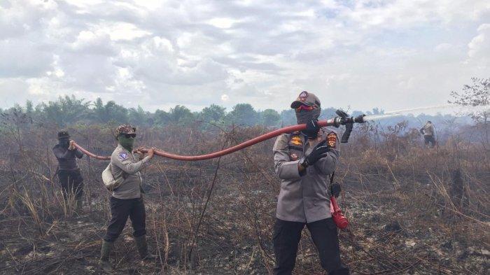 Penanganan Karhutla di Dumai Riau, Kapolres Jelaskan Langkah-langkah yang Dilakukan