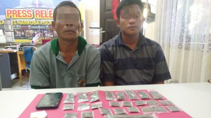 Penangkapan 3 Pengedar Ganja di Kampar, Pelaku Diciduk di 3 Lokasi Berbeda
