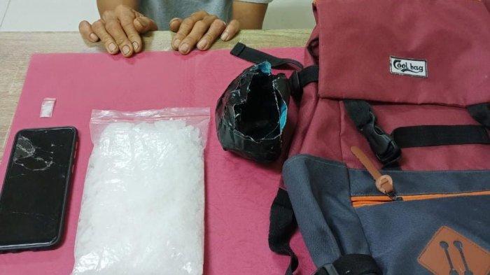 Penangkapan Narkoba di Siak, ET Gagal Jual 0,5 Kg Sabu yang Disimpan di Kantong Celana dan Tas