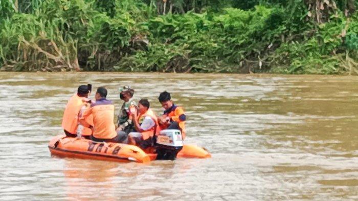 HANYUT saat Asyik Berenang,Bocah SDTenggelam di Sungai Batang Lubuh Riau,Pencarian Masih Berlangsung