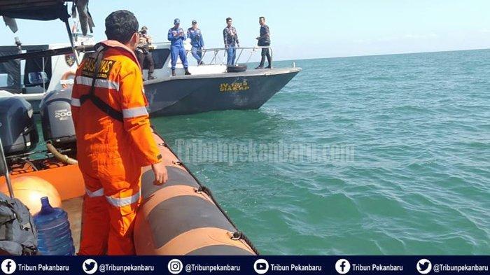 PENCARIAN Korban Kapal TKI Ilegal Karam di Perairan Riau, Basarnas Sisir Perairan Rupat Utara