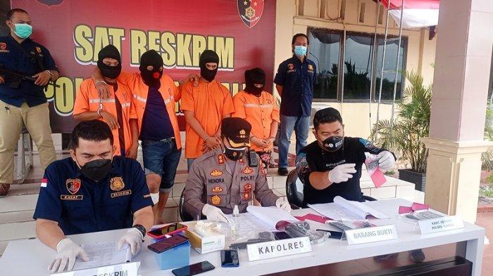 Bak Film Mafia, Diperintah Wanita,Komplotan Bandit Culik Pria di Bengkalis, Dipicu Utang Rp 110 Juta