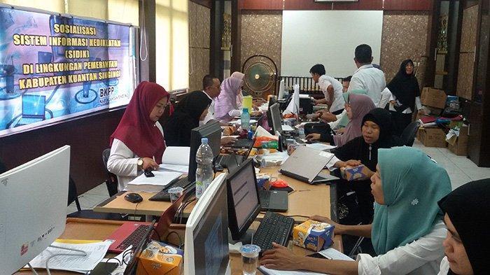 Unggah Berkas Jangan Buru-buru,800 Pendaftar CPNS Kuansing Riau Salah Upload, Gugur di Tahap Awal