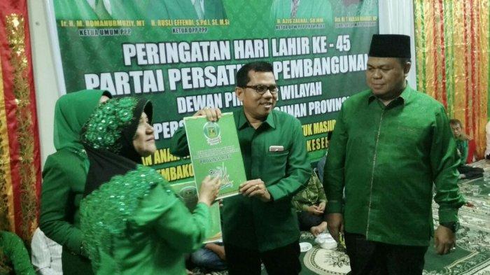 PPP Tak Ambil Bagian Kampanye Akbar di Riau