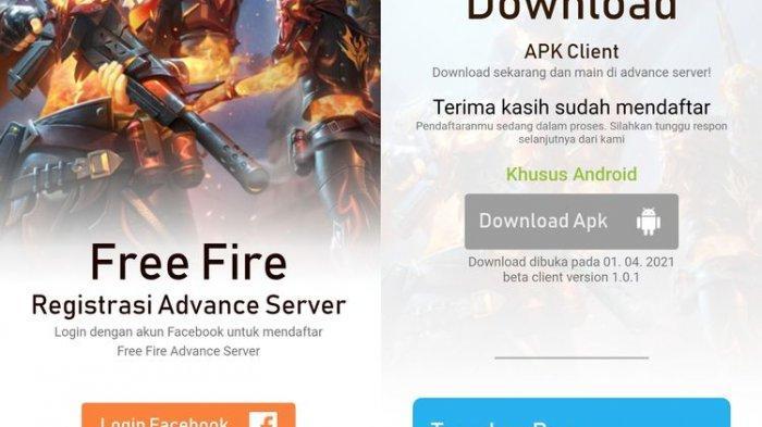 Cara Daftar Advance Server Free Fire, Pendaftaran Dibuka Sampai  16 September 2021