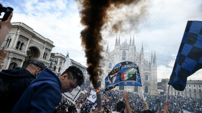 Inter Milan Bawa Pulang Scudetto Liga Italia, Steven Zhang Catat Sejarah Juga Bawa Beban Utang