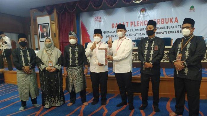 Sukiman Ibaratkan Tinju,Beronde-ronde Tanding Menang,Bersyukur Ditetapkan KPU Pemenang Pilkada Rohul